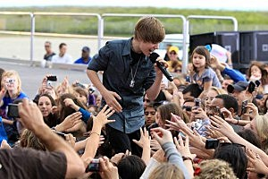 Justin Bieber and His Beliebers
