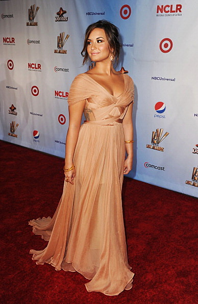 Demi Lovato Shows Off Her Curves At The Alma Awards