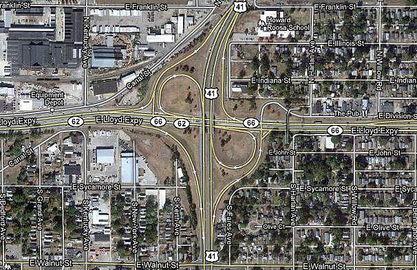 US 41 and Lloyd Expressway