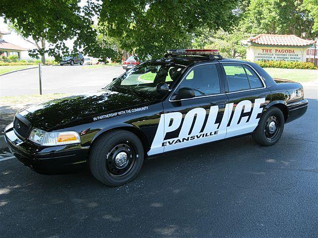 Evansville Police Cruiser