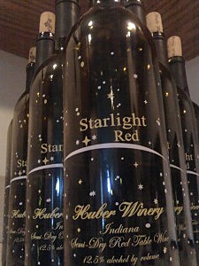 Huber Winery, Starlight Red - photo courtesy of Mike Adams
