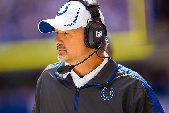Indianapolis Colts Head Coach Chuck Pagano