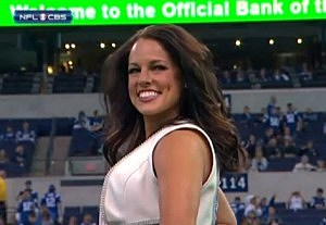 Colts Cheerleader Megan with Hair