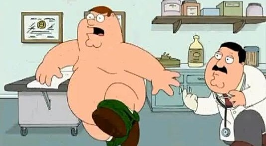 Family Guy Prostate Exam
