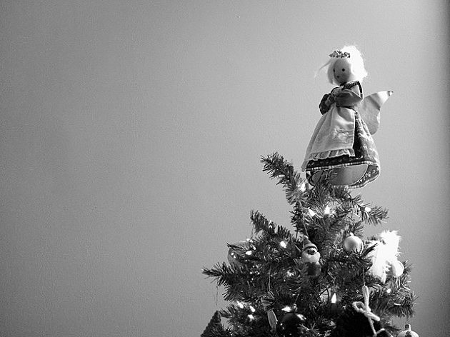 the story of how the angel tree topper came to be humor - Christmas Tree Angel