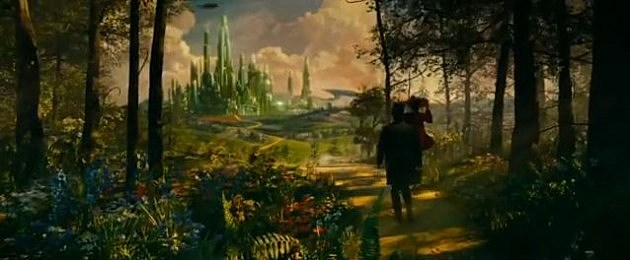 Oz The Great and Powerful - Scene