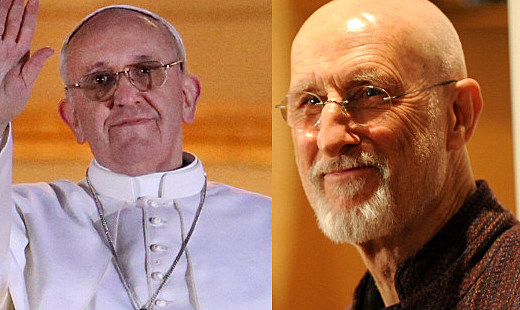 Pope Francis and Actor James Cromwell Comparison