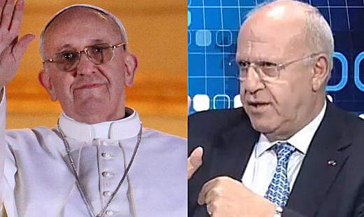 Twitter Reacts to New Pope - Michel Samaha Comparison