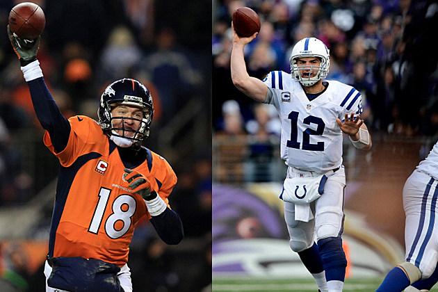Peyton Manning & Andrew Luck