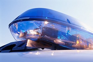 Cop Car Light Bar, police lights, emergency lights