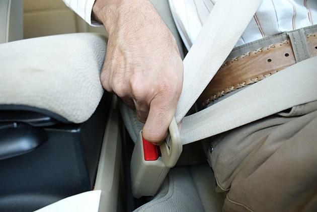 Buckling a Seat Belt
