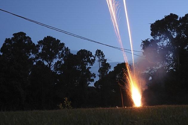 Backyard Fireworks - Credit- iStockphoto - 149133888