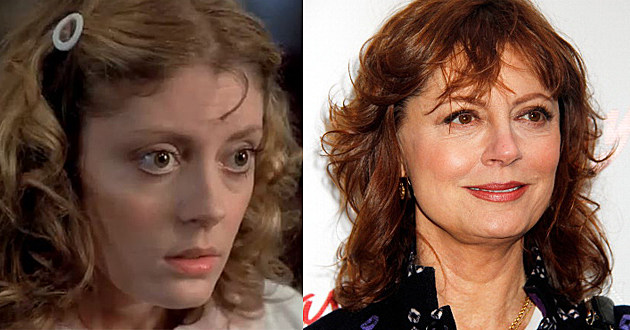 Rocky Horror Picture Show Cast Then & Now - Susan Sarandon