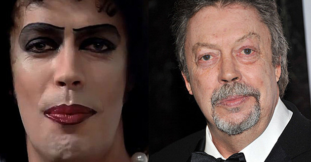 Rocky Horror Picture Show Cast Then & Now - Tim Curry