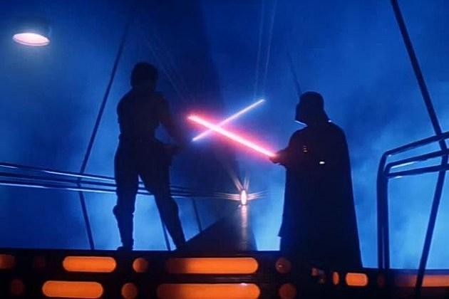 Luke Skywalker & Darth Vader Lightsaber Battle from 'Empire Strikes Back'