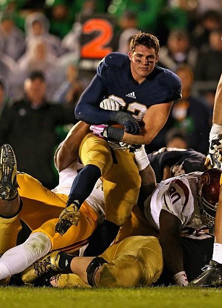 Notre Dame Running Back Cam McDaniel (Full Size)
