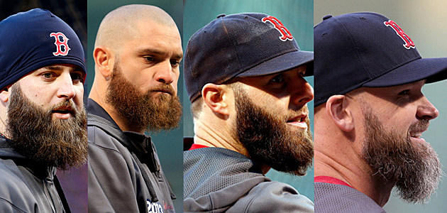 Boston Red Sox Player Beards