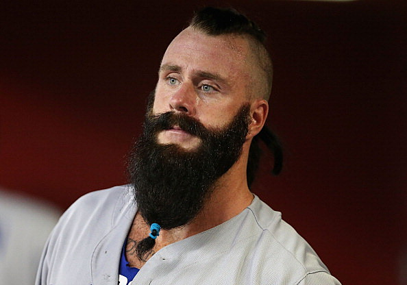 Los Angeles Dodgers Pitcher Brian Wilson