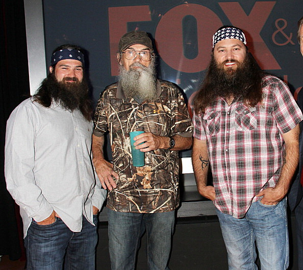 "The Cast Of ""Duck Dynasty"" Visits ""Fox And Friends"""