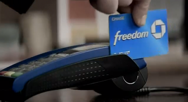 Chase Freedom Credit Card Commercial