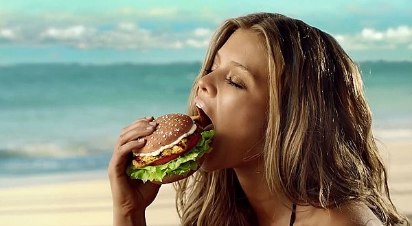 Hardees actresses Hardee s fish sandwich