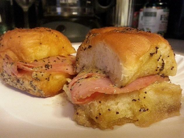 King's Hawaiian Baked Ham Sandwiches