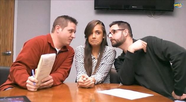 Awkward Screen Grab - Bobby & Ryan: Liz Interview