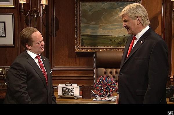 Spicer Trump on SNL 20170513